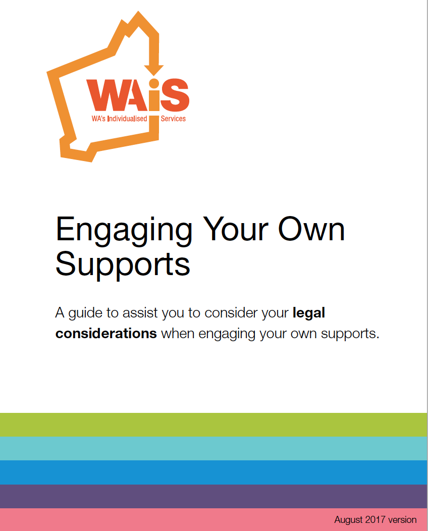 Engaging your own supports document
