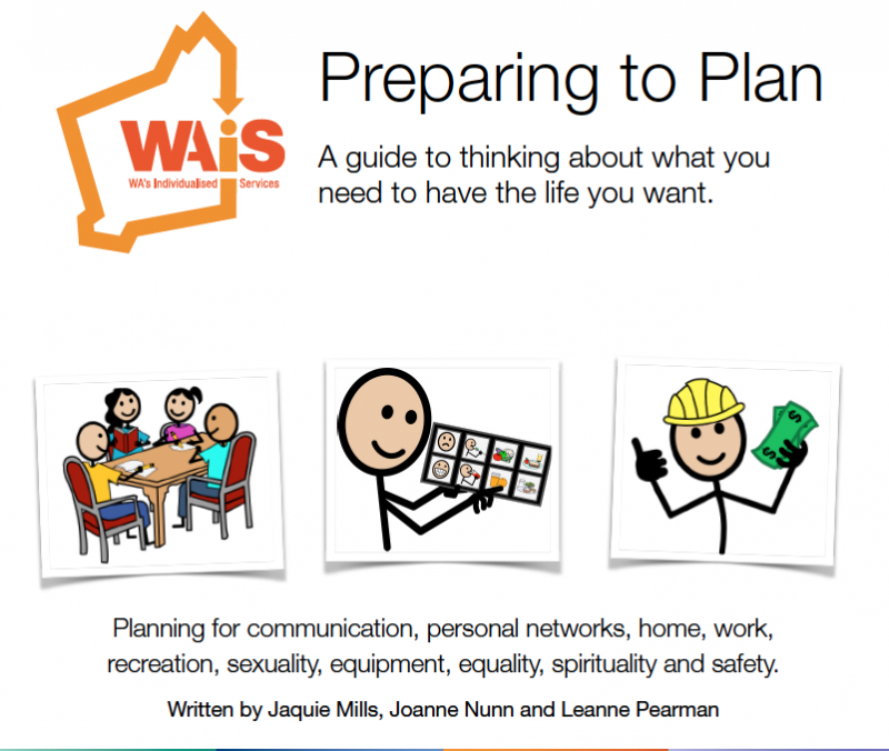 Preparing to Plan Booklet