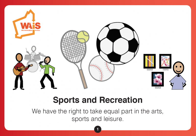 sports and recreation planning cards