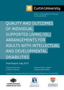 image of cover for curtain university final report 2017