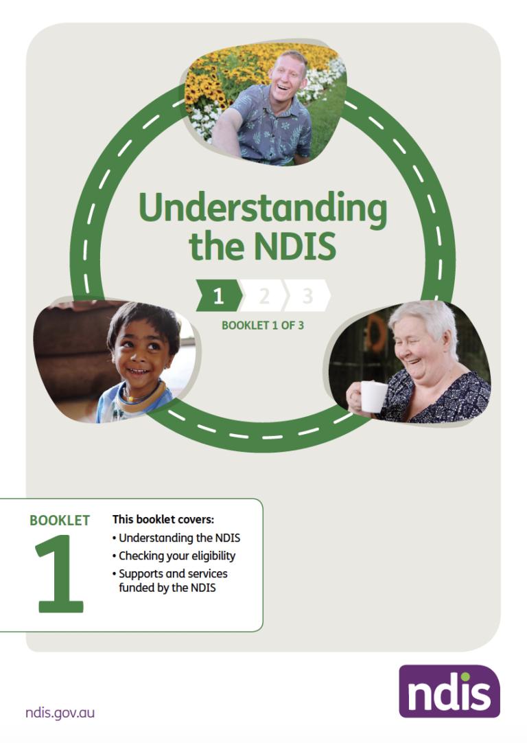 Image of NDIS Booklet 1 Understanding NDIS