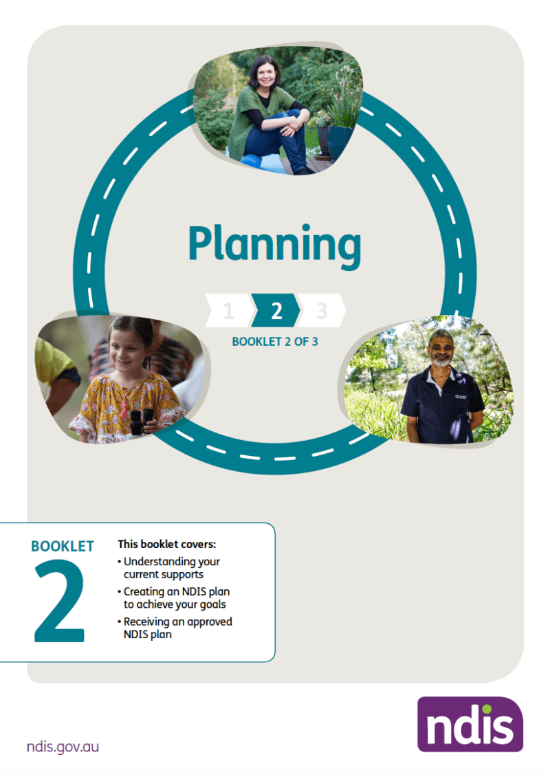 Image of NDIS Booklet 2 Planning