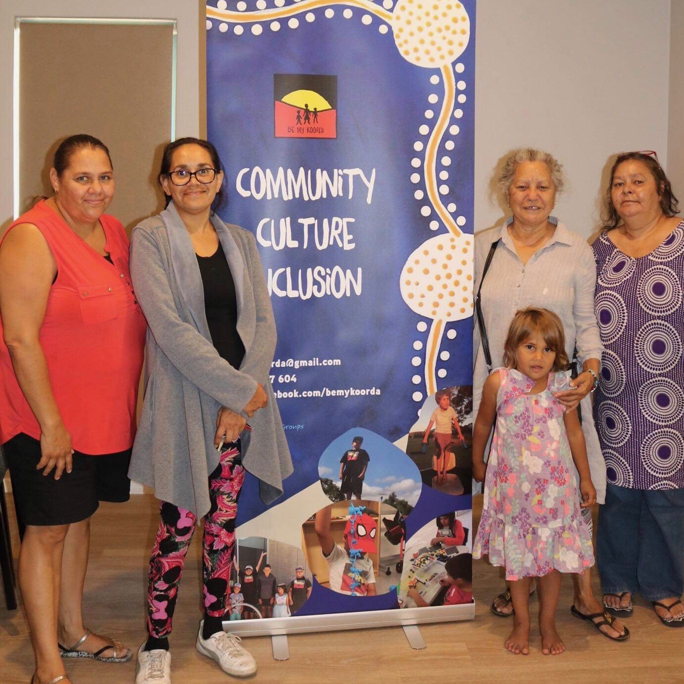 Photo of Evelyn McKay (WAiS Aboriginal Resource Developer) at Community Culture inclusion