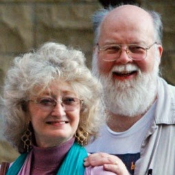 Photo of John O'Brien and Connie