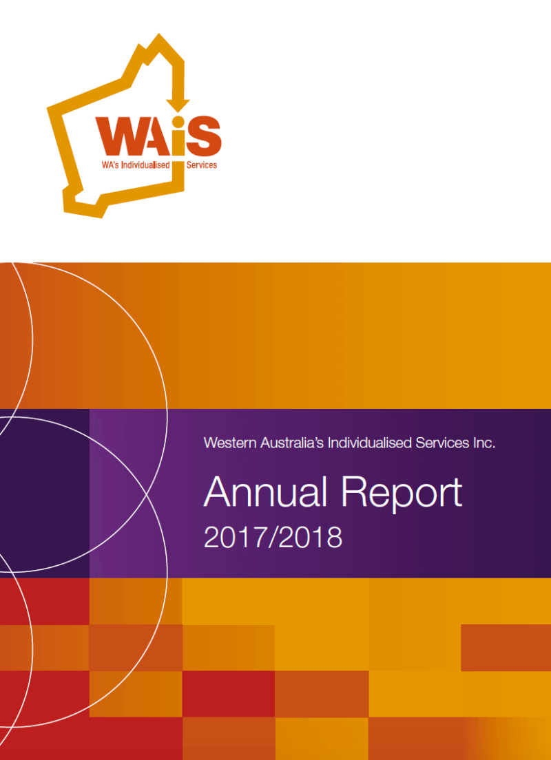 Image of the WAiS annual report