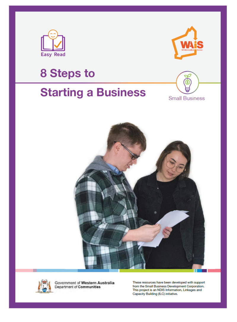 8 Steps to Starting a Business Resource