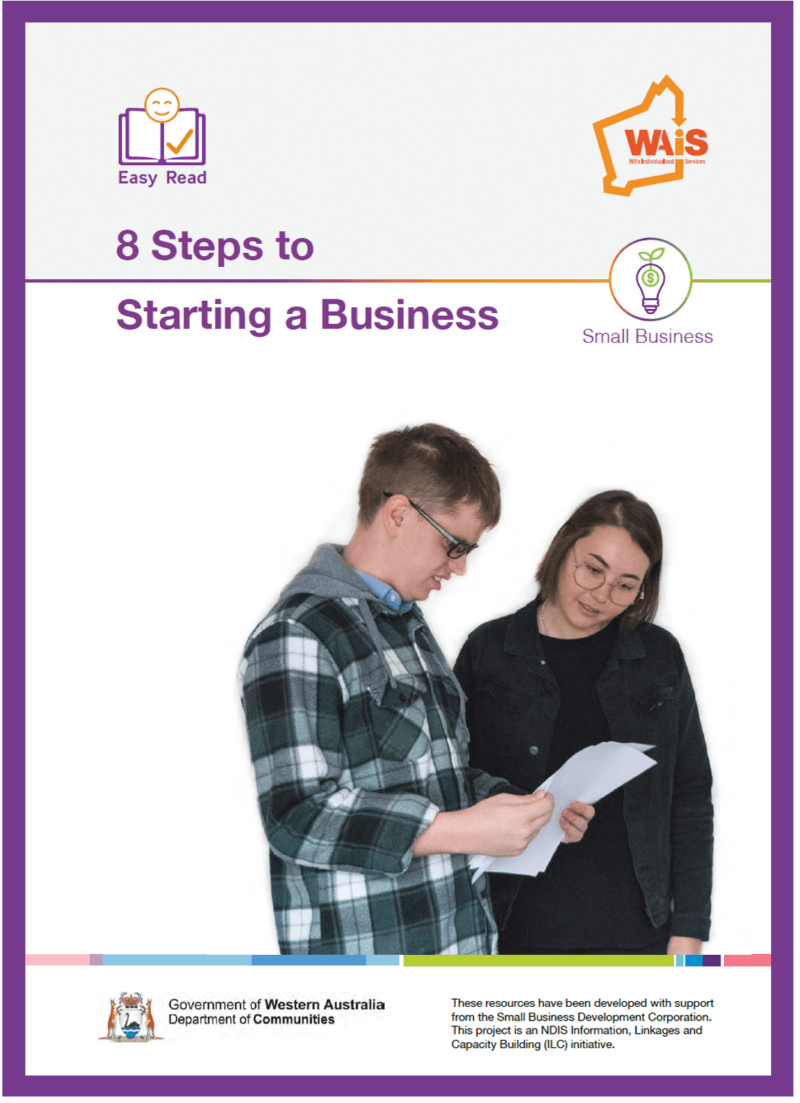 Image of cover of 8 Steps to Starting a Business resource