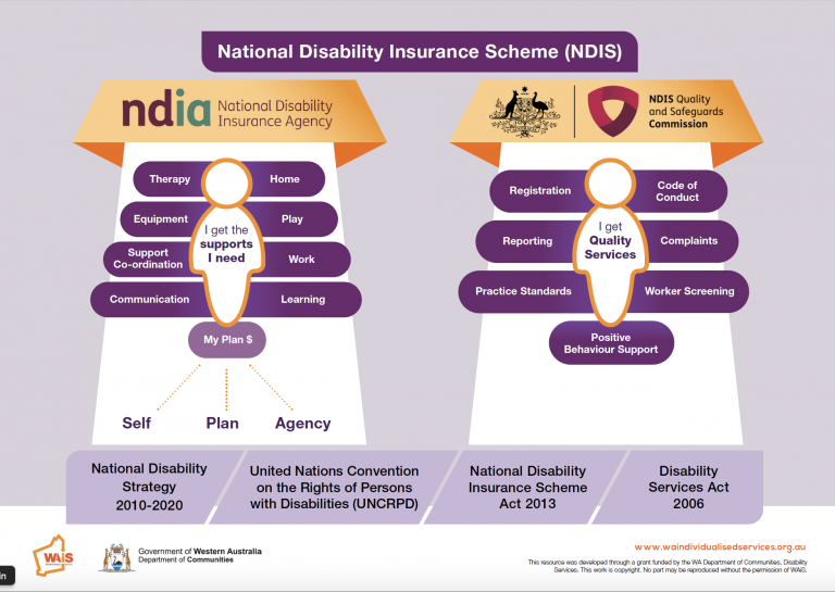 WAiS designed Resource Comparing NDIS and NDIA