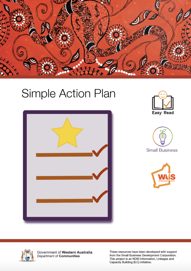 Image of cover of Simple Action Plan document