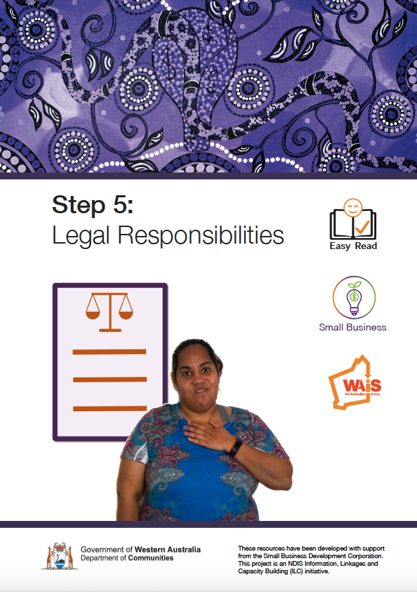 Image of cover of Step 5 Legal Responsibilities document