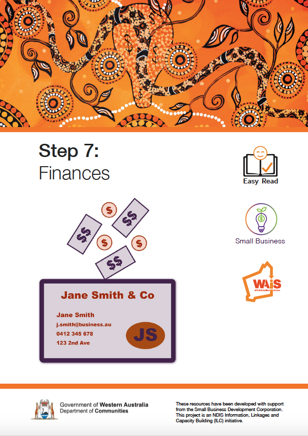 Image of cover of Step 7 Business Financials